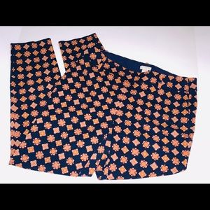 J. Crew Cropped Stretch Pants Size 4